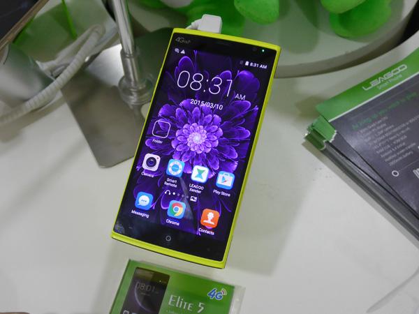Leogooのスマートフォン。悪くない端末もアリ