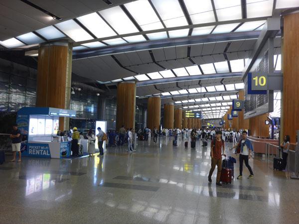 チャンギ空港T2